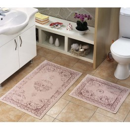 Carpets in the bathroom